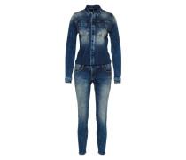 Jumpsuit 'Nancie X' blau