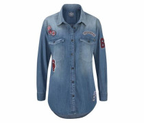 Jeansbluse 'supersize Denim Shirt'