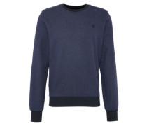 Sweatshirt 'Core r sw l/s' dunkelblau / schwarz