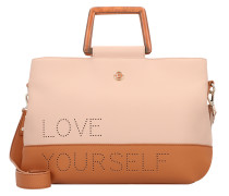 Handtasche 'Rhapsody Deva' cognac / rosa