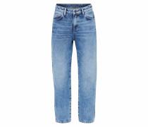 Mom Fit Jeans Vintage Used blue denim