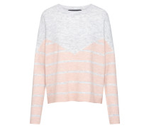 Pullover 'rana' grau / rosa