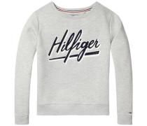 Sweatshirt 'thdw Basic Graphic CN Hknit L/S 11' hellgrau