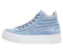 Wildleder-Sneaker hellblau