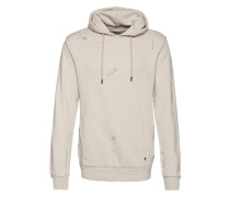 Sweatshirt mit Kapuze 'Shoreditch' beige