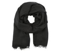 Weicher Schal schwarz