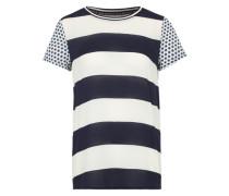Shirt 'DeborahL' blau / mischfarben