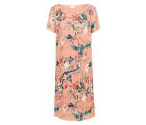 Plissiertes Kleid 'vijosalin S/s' mischfarben / rosa