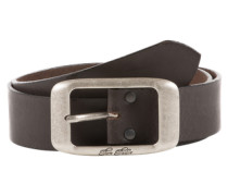 Ledergürtel 'used cow leather belt' dunkelbraun