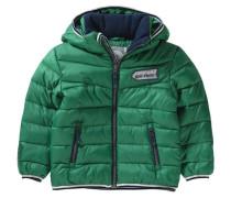 Winterjacke für Jungen grün