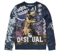 Sweatshirt für Jungen blau / dunkelblau / khaki / naturweiß