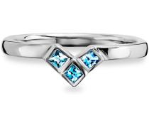 Ring »C1662R/90/l2« mit Zirkonia silber