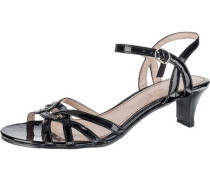 Riemchensandaletten 'Birkin Sandal' schwarz