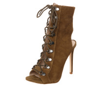 High Heel 'Kennee' oliv