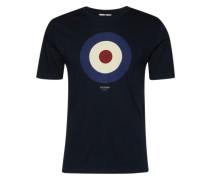 Shirt 'target Tee' navy