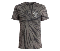T-Shirt 'Off The Block Spiral' taupe / anthrazit