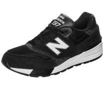 Sneaker 'ml597-Aac-D' schwarz / weiß