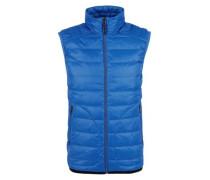 Sportive Light Down-Steppweste blau