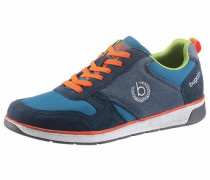 -Sneaker blau
