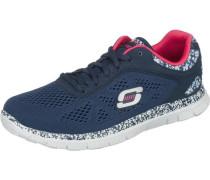 Flex Appeal Island Style Sneakers marine / hellblau / weiß