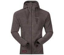 Fleece Jacke 'Hareid' braun