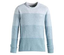 Pullover 'pursly' hellblau / weiß