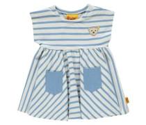 Kleid blau / gelb / weiß