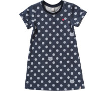 Sweatkleid blau / grau