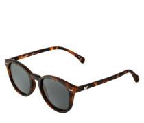 Matte Sonnenbrille 'Bandwagon' braun