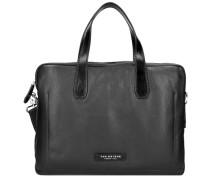 'Plume Mix Uomo' Shopper Tasche schwarz