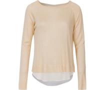 Pullover beige / weiß