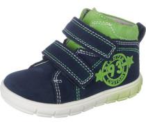 Lauflernschuhe für Jungen dunkelblau / hellgrün