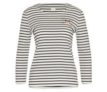 Sweatshirt 'gaston' schwarz / weiß