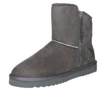 Boots 'Uma Zip Bootie' grau