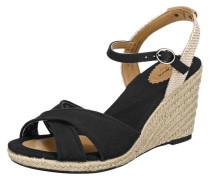Sandaletten 'Shark Basic' beige / schwarz