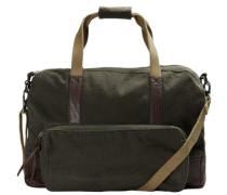 Klassische Tasche grün / schwarz