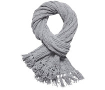 Schal »Luca Cable Scarf« grau