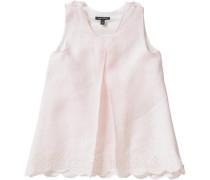 Baby Blusentop aus Leinen für Mädchen rosa