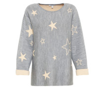 Sweatshirt 'star' grau
