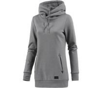 'walk ON BY High' Hoodie Damen grau