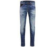 Slim Fit Jeans 'glenn FOX BL 804' blue denim