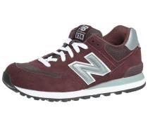 Sneakers 'm574Nk' burgunder