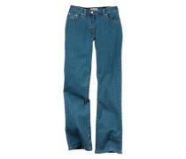 Bootcut-Jeans blau / blue denim / hellblau