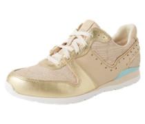 Sneaker 'Deaven' beige / gold
