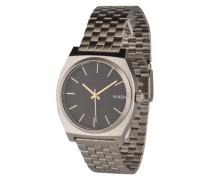 Armbanduhr 'Time Teller' gold / schwarz / silber