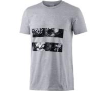 'Rory' Printshirt Herren hellgrau