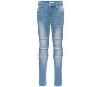 Skinny Fit Jeans nittammy blau