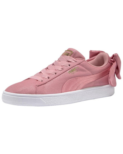 Sneaker 'Suede Bow Shimmer Wn's' rosa
