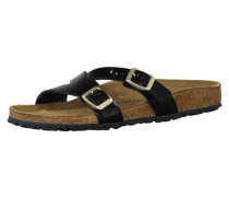 Sandale 'Yao Balance' schmal schwarz