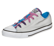 Chuck Taylor All Star Loopholes Slip OX Sneaker hellgrau / lila